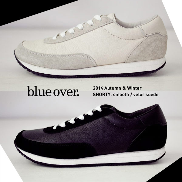 blue over 2014 AW / SHORTY. smooth x velor suede
