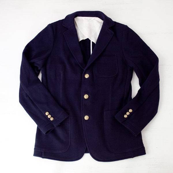 O GRAN NASO! オーグランナーゾ Sweat 3B tailored jacket スウェット テーラード 3B ジャケット