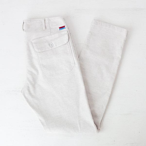 DENI trip デニトリップ Stretch pants white ストレッチパンツ ホワイト