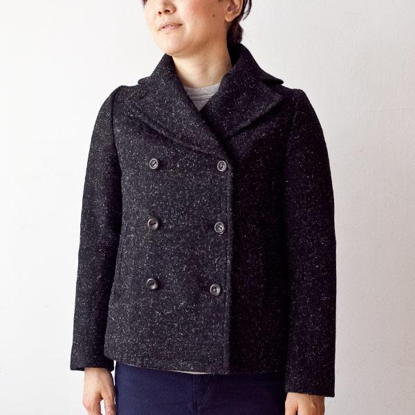 suzuki takayuki スズキ タカユキ Pea coat ピーコート