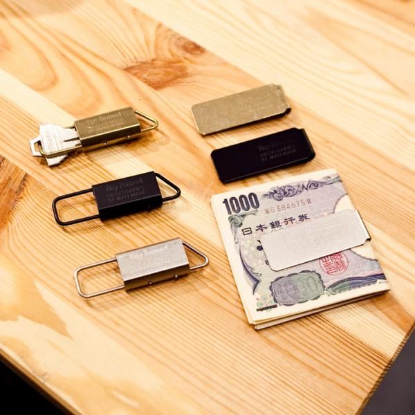 ・Tiny Formed タイニーフォームド / Key fold キーホールド  ・Tiny Formed タイニーフォームド / Money clip マネークリップ