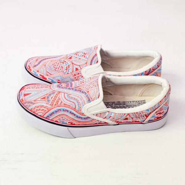 【受注生産】Apsu アプスー / Hand drawimg order sneaker 手描き模様オーダースニーカー