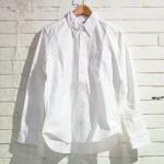 MANUAL ALPHABET マニュアル アルファベット OX BD SHIRTS オックスフォード ボタンダウン シャツ WHITE