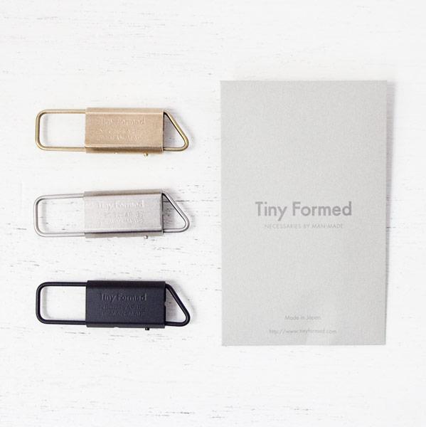 Tiny Formed【タイニー・フォームド】Tiny metal key fold キー ホールド