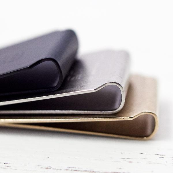Tiny Formed【タイニー・フォームド】Tiny metal money clip マネー クリップ
