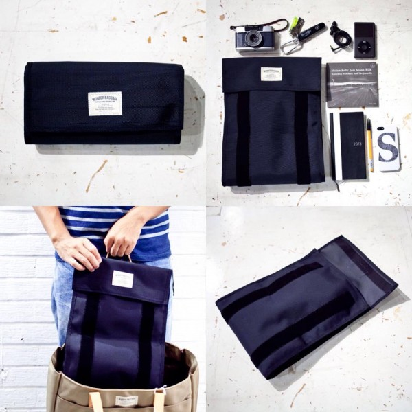 WONDER BAGGAGE ワンダーバゲージ clutch bag クラッチバック