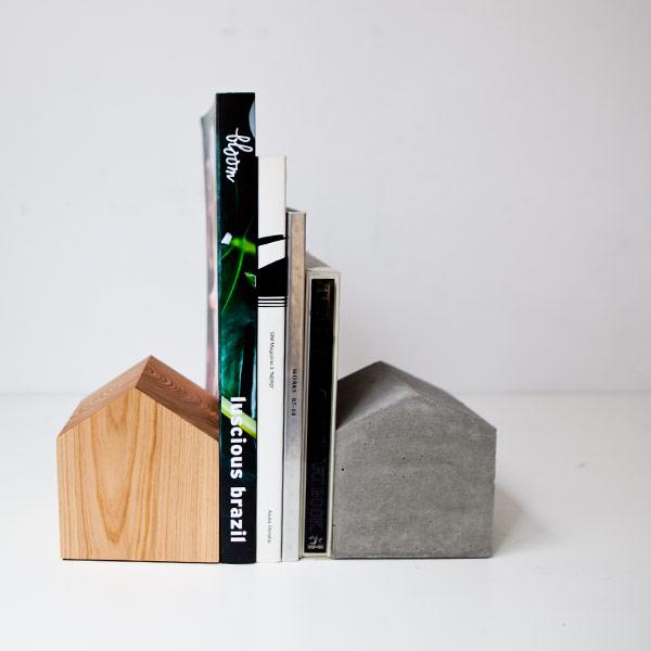 moton モトン / House book end ハウス ブックエンド