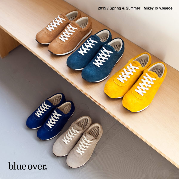blueover blue over ブルーオーバー マイキー mikey lo スエード