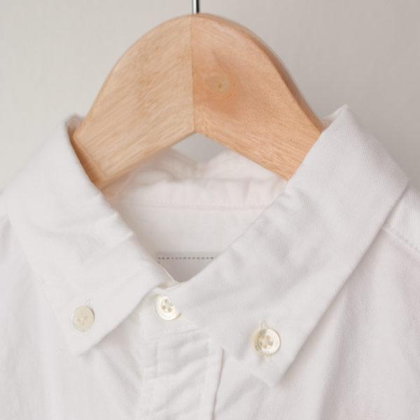 【Ladies'】Manual Alphabet マニュアル・アルファベット / Premium ox bd shirt : white プレムアム オックスフォード ボタンダウン シャツ:ホワイト