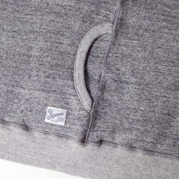 kKepani ケパニ / Pinnacle park : stand neck sweat vest : gray スタンド ネック スウェットベスト : グレー