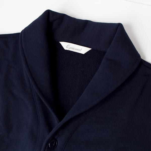 O GRAN NASO! オーグランナーゾ! Sweat shawlcollar cardigan スウェット ショール カーディガン