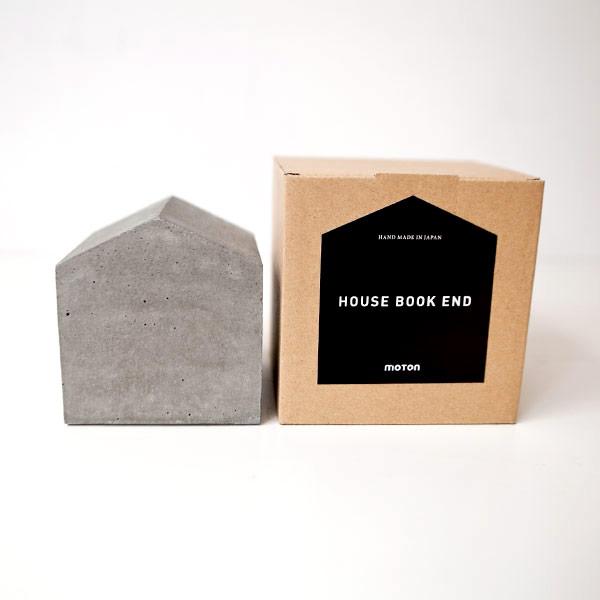 moton モトン / House book end : mortar ハウス ブックエンド モルタル