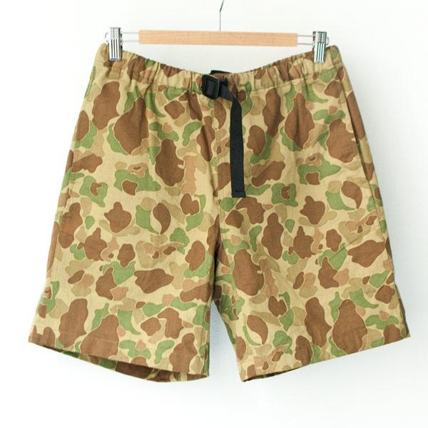 COOCHUCAMP クーチューキャンプ / Happy shorts : camo ハッピー ショーツ カモ
