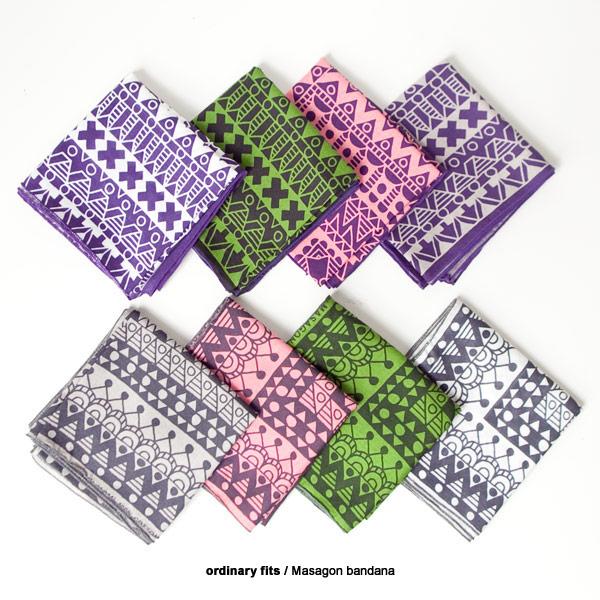 ordinary fits オーディナリーフィッツ / Masagon bandana マサゴン バンダナ
