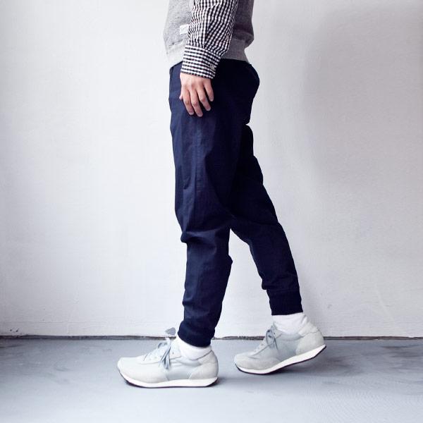 O GRAN NASO! オー・グラン・ナーゾ! Cotton easy rib pants コットン イージー リブ パンツ