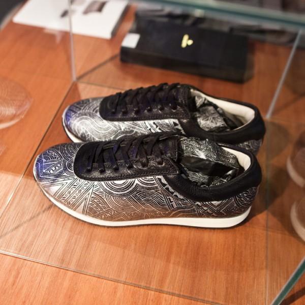 apsu アプスー スニーカー 靴 シューズ 模様