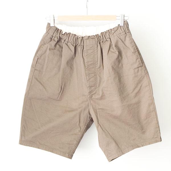 【Men's&Ladies'】ordinary fits オーディナリーフィッツ Travel shorts : beige トラベルショーツ ベージュ