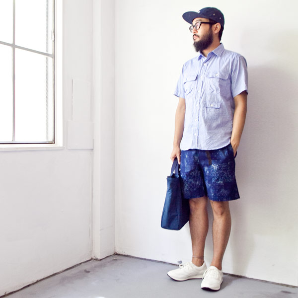 【Men's&Ladies'】COOCHUCAMP クーチューキャンプ Happy shorts : bandana ハッピー ショーツ バンダナ