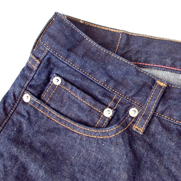 【Men's&Ladies'】ordinary fits / 5pocket ankle denim : one wash