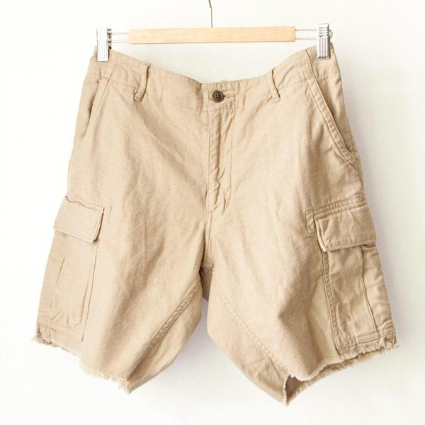 Sanca サンカ / Satin monkey shorts : beige サテン モンキー ショーツ ベージュ