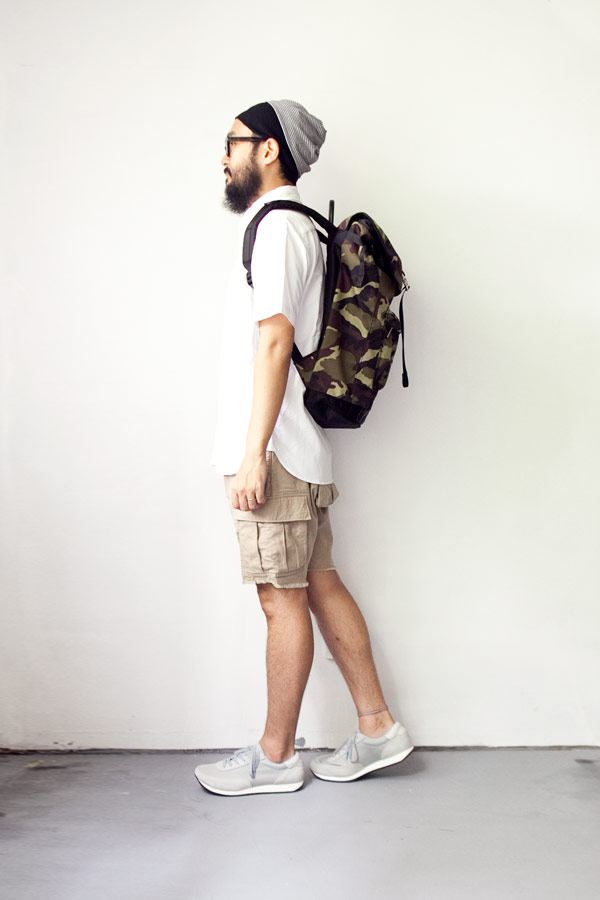 【Limited edition・数量限定】  WONDER BAGGAGE ワンダーバゲージ  Backpack urban / バックパック アーバン