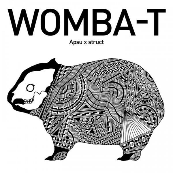 【受注生産】Apsu アプスー x struct ストラクト / WOMBA-T ウォンバットTシャツ【先行特典】