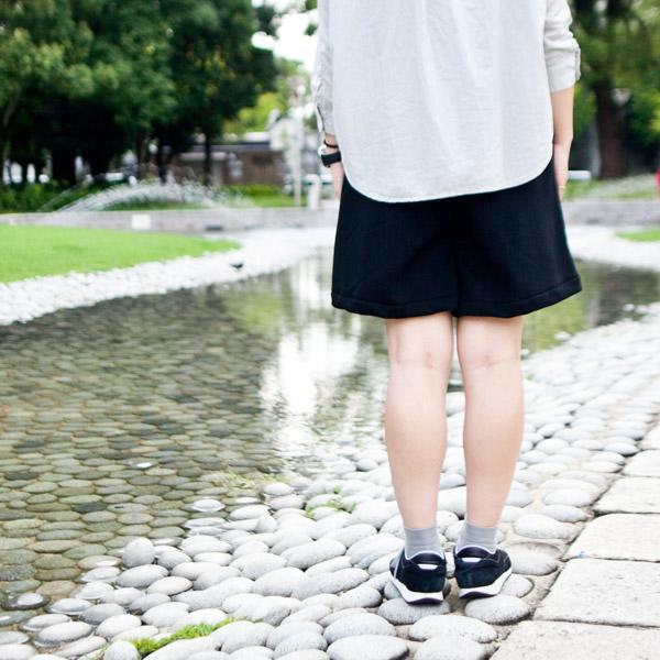 RYU 15AW ムートン ジャージ キュロット スカート