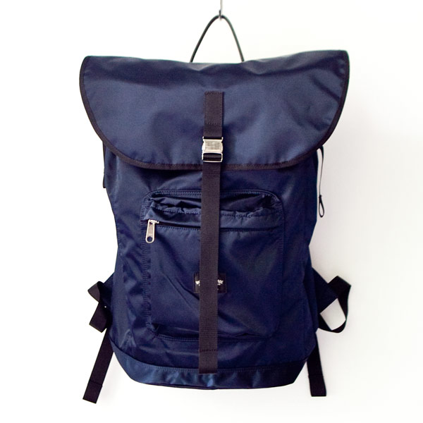 【Limited edition・数量限定】WONDER BAGGAGE ワンダーバゲージ Backpack urban navy バックパック アーバン ネイビー