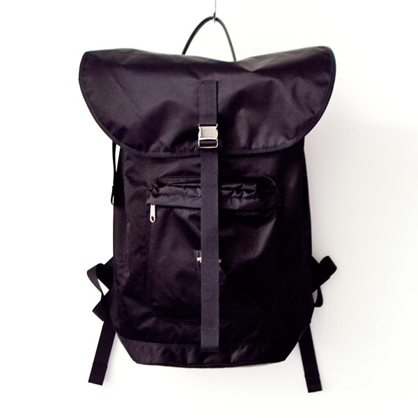 【Limited edition・数量限定】WONDER BAGGAGE ワンダーバゲージ Backpack urban black バックパック アーバン ブラック