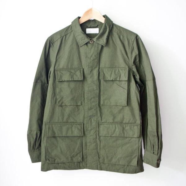 Manual Alphabet マニュアル アルファベット Rip stop bdu jacket リップストップ BDU ジャケット