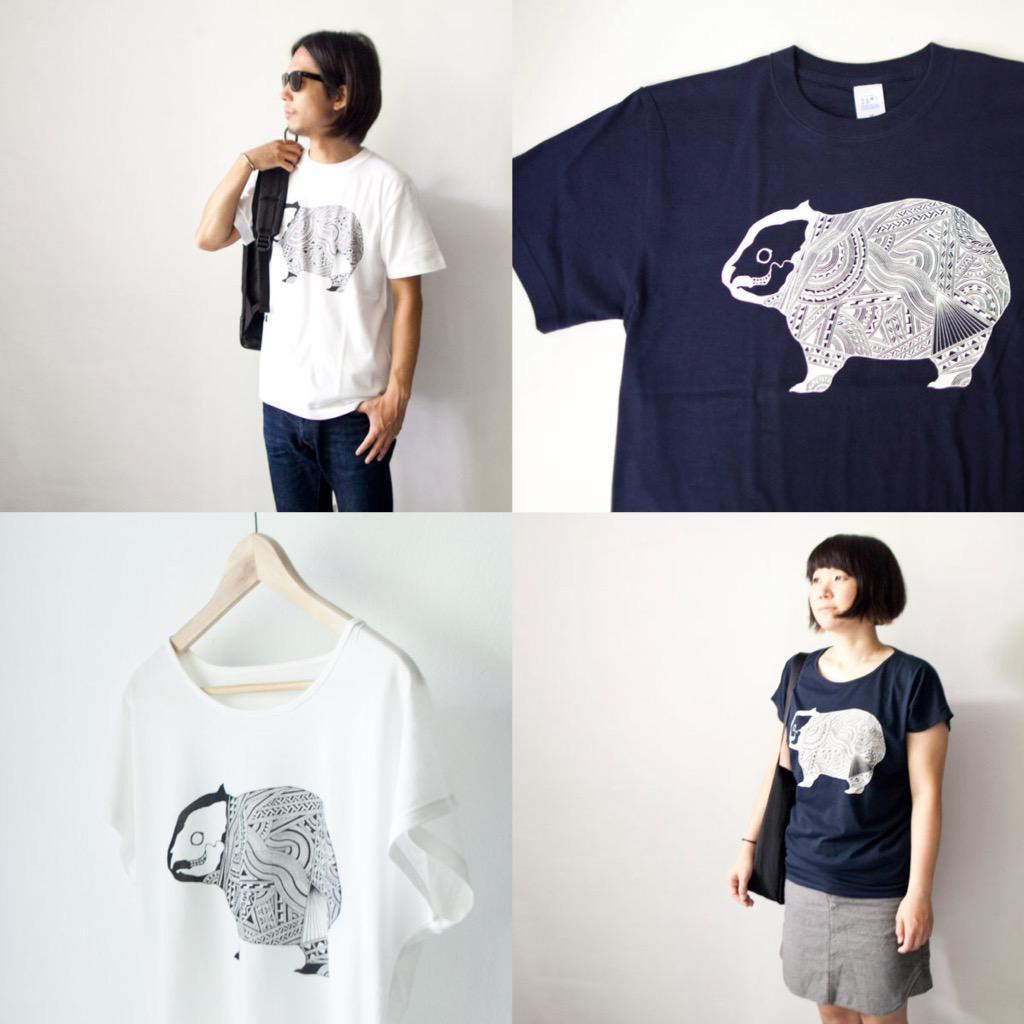Apsu アプスー x struct ストラクト / WOMBA-T ウォンバットTシャツ