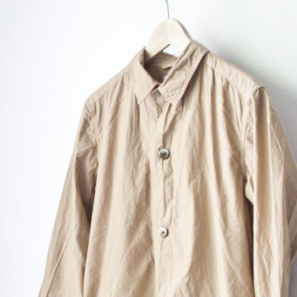 Manual Alphabet shirt coat マニュアル アルファベット シャツコート