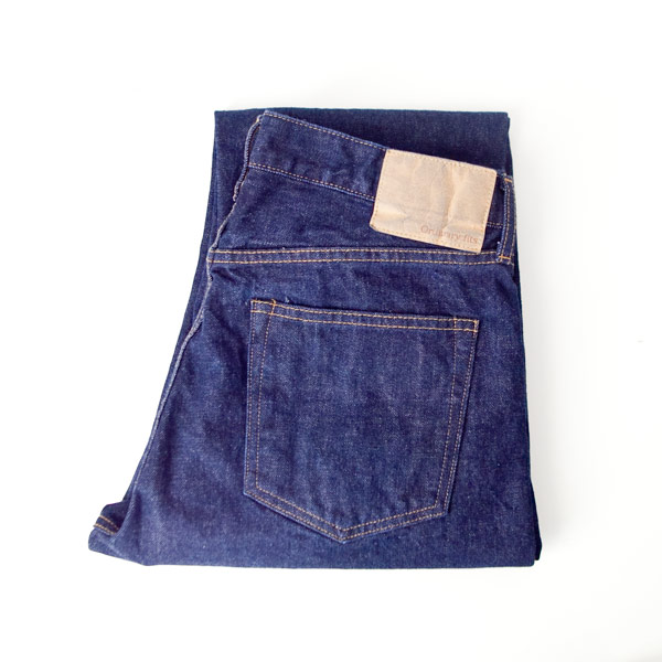 【Men's&Ladies'】ordinary fits オーディナリーフィッツ 5pocket ankle denim : one wash 5ポケット アンクレット デニム ワンウォッシュ