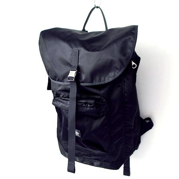 WONDER BAGGAGE ワンダーバゲージ Backpack urban black バックパック アーバン ブラック