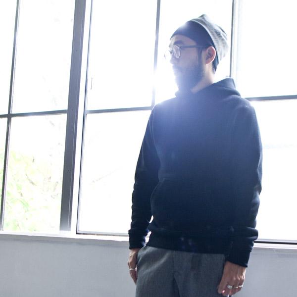 suzuki takayuki 15aw / Pea coat : black  スズキ タカユキ / パーカー ブラック 黒