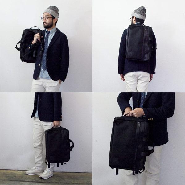 WONDER BAGGAGE ワンダーバゲージ / Activate 3way brief bag アクティベート 3ウェイ ブリーフバッグ