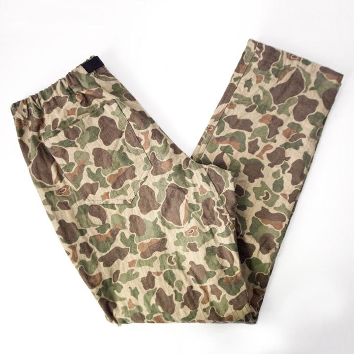 COOCHUCAMP クーチューキャンプ Happy Long Pants : camo パッピーロングパンツ カモ