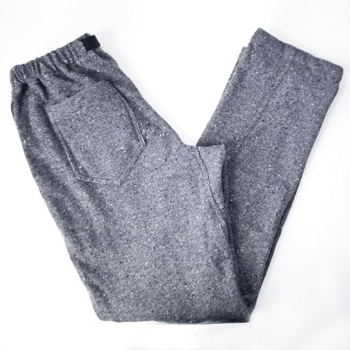 COOCHUCAMP クーチューキャンプ Happy Long Pants Sweat : gray パッピーロングパンツ スウェット グレー