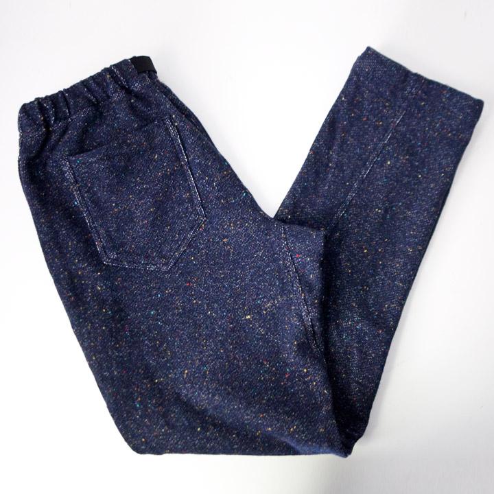 COOCHUCAMP クーチューキャンプ Happy Long Pants Sweat : navy パッピーロングパンツ スウェット ネイビー