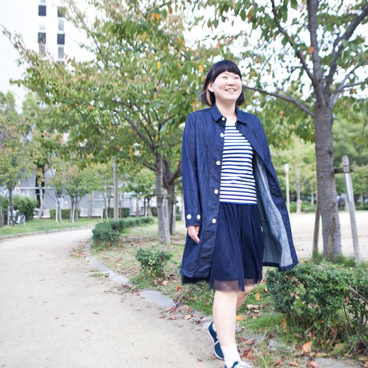 Manual Alphabet マニュアル・アルファベット / shirt coat : シャツコート