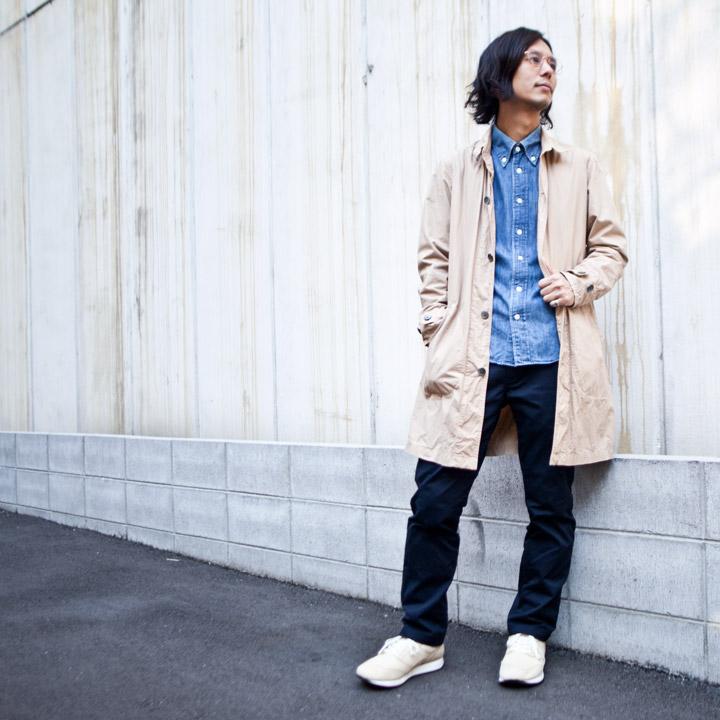【Men's&Ladies'】Manual Alphabet マニュアル・アルファベット Typewriter shirt coat タイプライターシャツコート