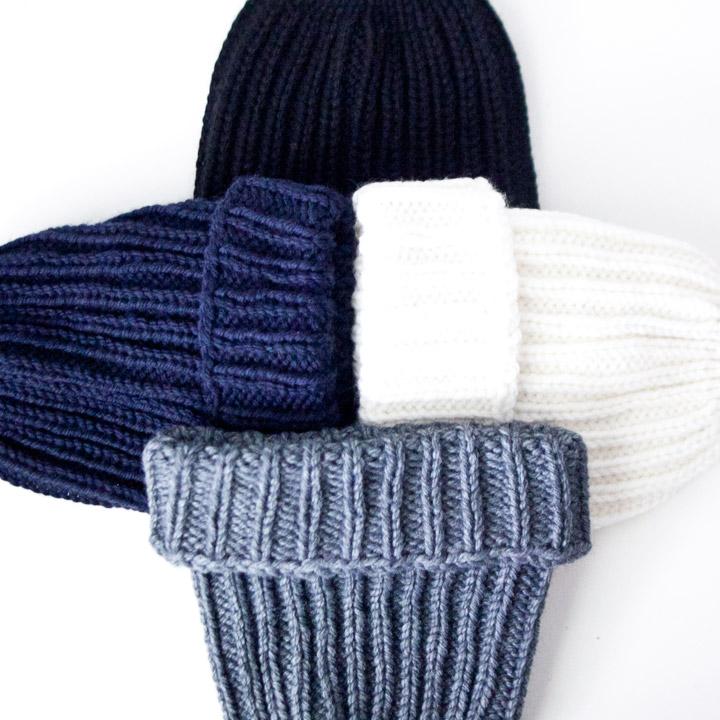 soglia ソリア MAXI MERINO knitcap  マキシメリノ ニットキャップ