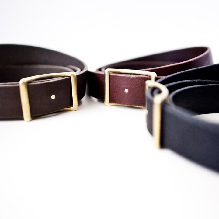 SOAK IN WATER ソークインウォーター / leather belt  レザーベルト
