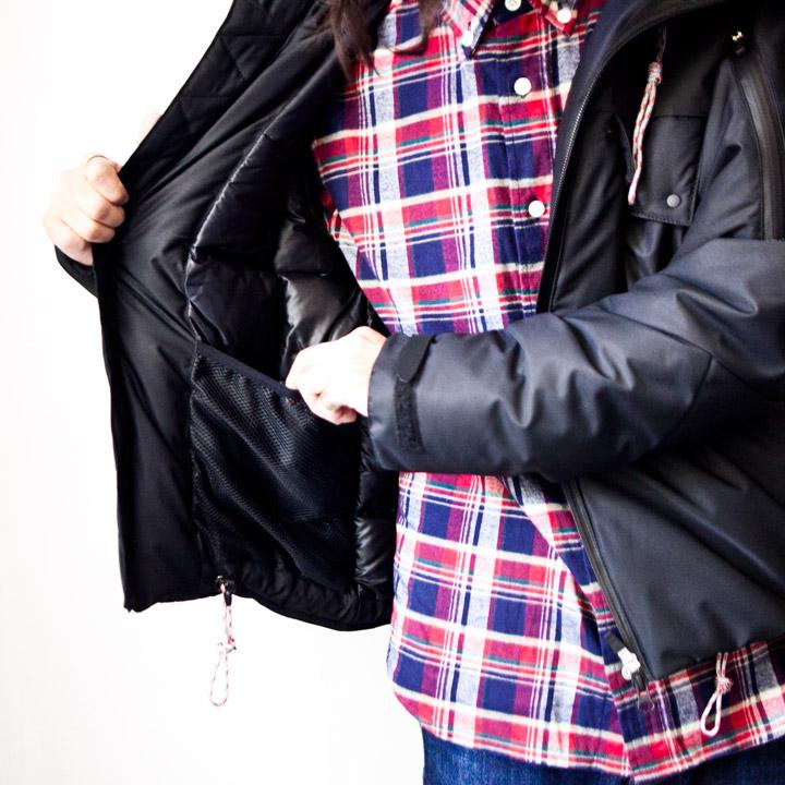 ACT13 アクト・サーティーン / Parbat : down jacket パルバット : ダウンジャケット