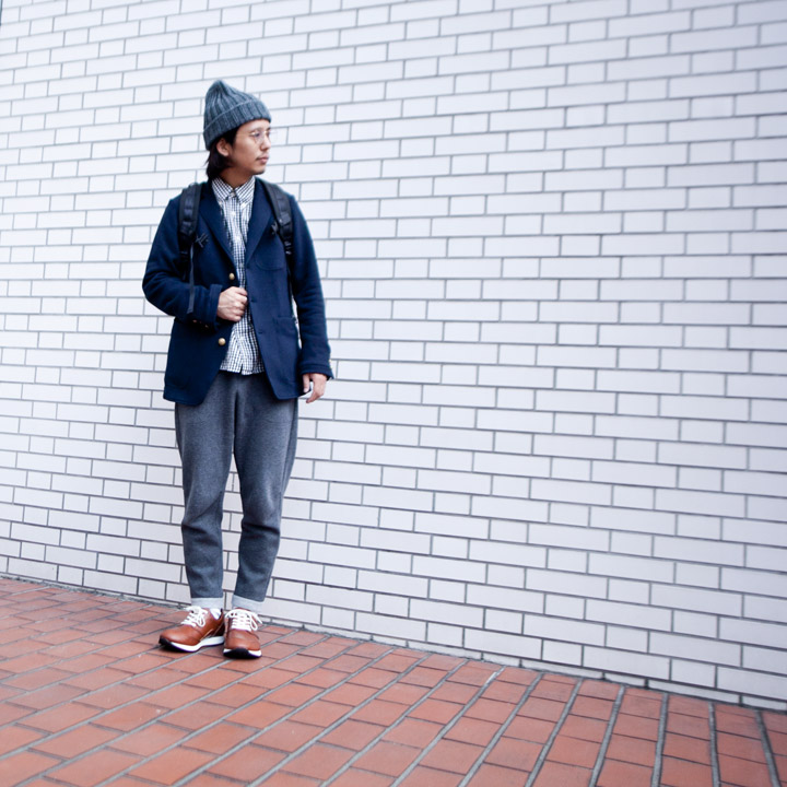 Nicholson and Nicholson(O GRAN NASO!) / Sweat 3B tailored jacket 紺ブレ