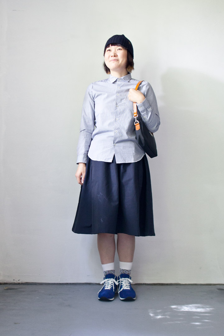 【Ladies'】ordinary fits / Gather skirt オーディナリーフィッツ ギャザースカート