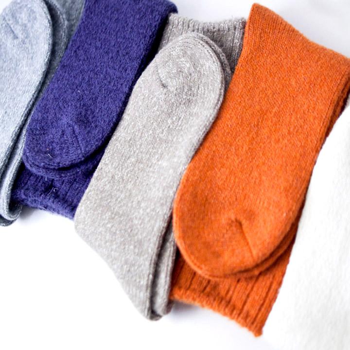 socken ソッケン / Wool plain socks ウールプレインソックス