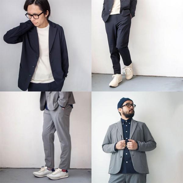 Manual Alphabet マニュアル アルファベット  Silo twill 2way stretch jacket & pants  サイロ ツイル ストレッチ ジャケット & パンツ