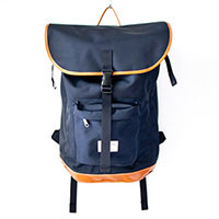 WONDER BAGGAGE ワンダーバゲージ Backpack : navy バックパック : ネイビー