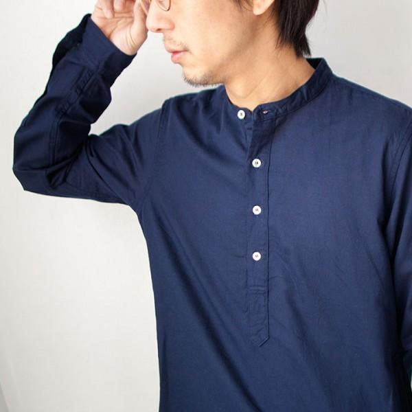 1sin イッシン / Delightful pullover shirt  デライトフル プルオーバー シャツ